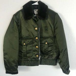 Vintage Tuffy Jac Fur lined Bomber Jacket.